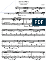 Minor Swing (Chocolat OST) Rachel Portman