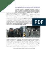 Visita del JEME a las unidades de Córdoba