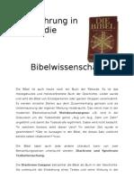 Bibelwissenschaft-Sündenfall