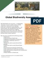 Global Biodiversity Assessment