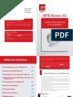 Guide Sfr Home3g