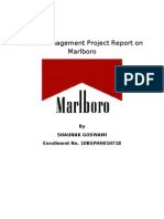 Brand Management Project on Marlboro