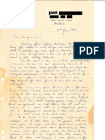 Letter in David Parker Ray Case