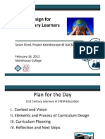 Course Design for  21st Century Learners
