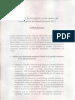 Carta de Acuerdos Voluntariado