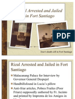 Rizal Arrested and Jailed in Fort Santiago (1)