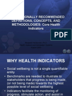 Core Health Indicators