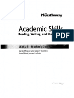 New Headway Academic Skills Level 2 Teachers Book