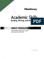 New Headway Academic Skills Level 2 Teachers Book