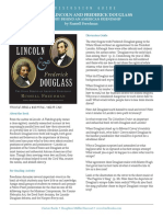 Abraham Lincoln and Frederick Douglass Discussion Guide