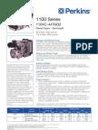 1104c-44tag2 Engine Stage II Pn1714