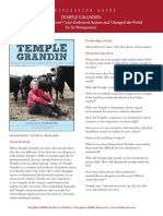 Temple Grandin Discussion Guide