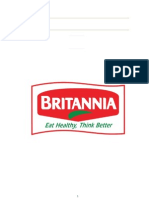 24029653 Company Analysis Report of BRITANNIA
