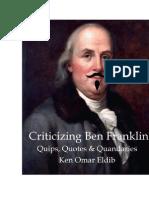Criticizing Ben Frank Final
