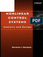 Nonlinear Control Systems Analysis and Design - Horacio J. Marquez