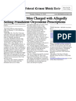 February 21, 2012 - The Federal Crimes Watch Daily