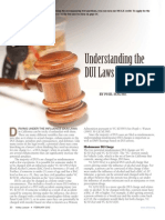 Understanding DUI Laws in California