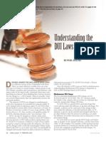 Understanding DUI Laws in California