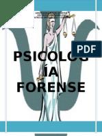 MONOGRAFÍA - PSICOLOGÍA FORENSE