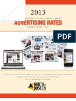 NOBMG Rates 2013