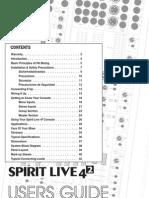 Spirit Live 4 2 Manual Issue2