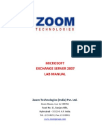 Exch 2007 Manual