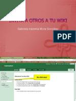 5. Invita a Otros a Tu Wiki