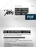 How to Create a Wordpress Theme (Continued))