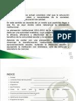 Plan Institucional 2011 - 2012