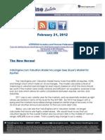 ValuEngine.com Valuation Model No Longer Sees Buyer's Market for Equities