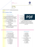 Unidad IV. Autorrealización Análisis FODA