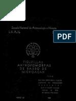 Figurillas antropomorfas de barro de Michoacán