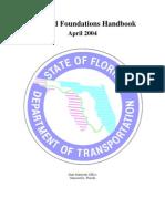 State of Florida Soils Foundations Handbk