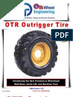 OTR Wheel Engineering OTR Outrigger Tire Jan 2012