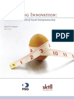 Measuring Innovation - Mark R Kramer (Skoll and FSG Report 2005)