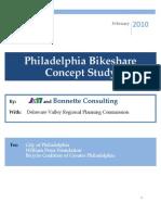 Philadelphia Bike Share Concept Study Feb 2010