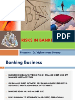 RMB - Risks in Banking