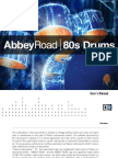 Abbey Road 80s Drums Manual English