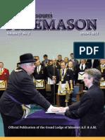 Missouri Freemason Magazine - 2012 Spring