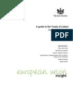 Guide to Treaty of Lisbon