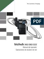 Bizhub 362 282 222 Ug Network Scanner Operations Es 1 1 1