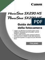 Manuale Canon SX220HS