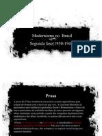 Segunda fase - Modernismo