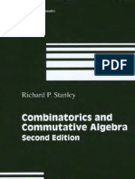 Combinatorics and Commutative Algebra