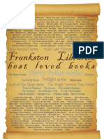 Frankston City Libraries' Team's Most Loved Books 2012