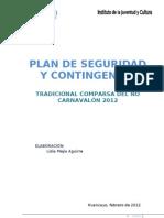 PLAN DE CONTINGENCIA ÑO CARNAVALÓN