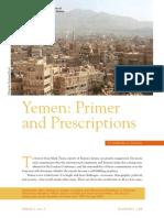 Yemen Primer and Prescriptions