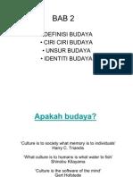 19756481 BAB 2 Definisi Budaya
