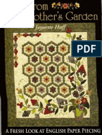 Quilts From Grandmother's Garden - A Fresh Look at English Paper Piecing
