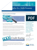 B.C. budget 2012